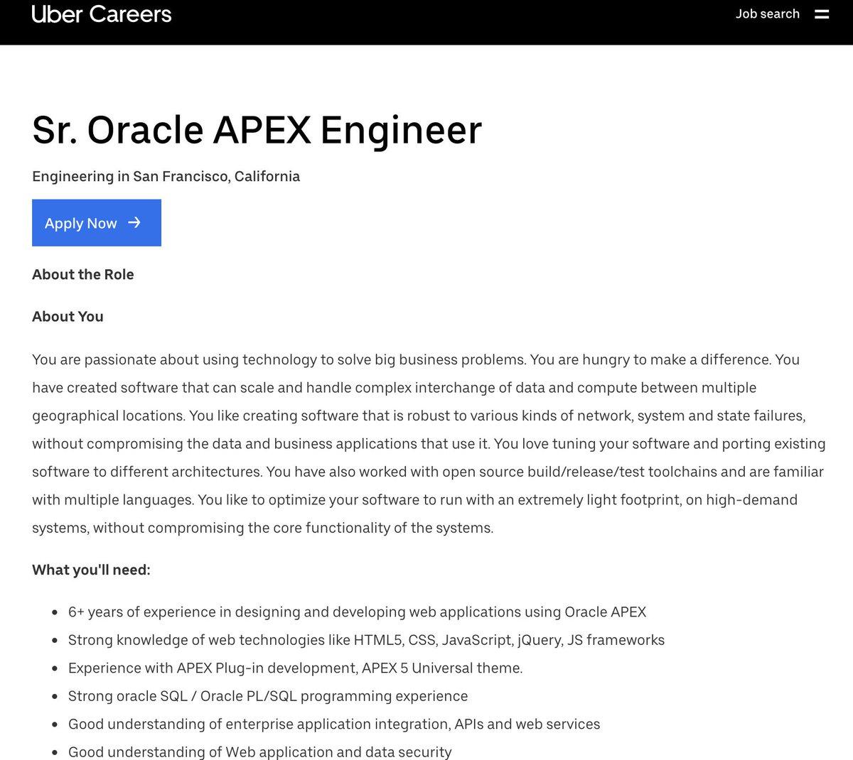 Oracle APEX (@OracleAPEX) | Twitter