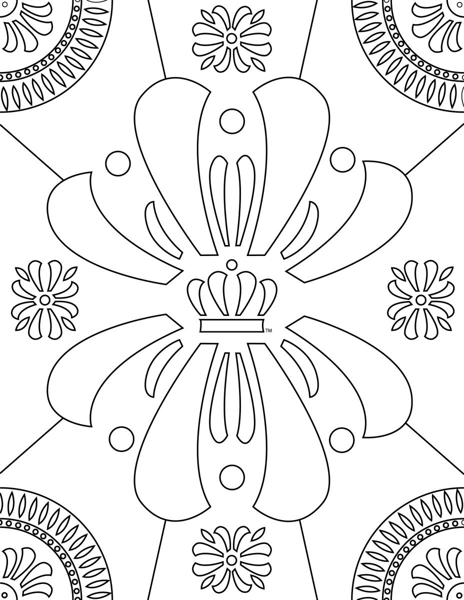 Fantasy Digital Download printable book, adult coloring, coloring ... | 1200x928
