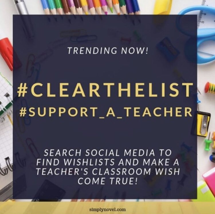 News about #clearthelist on Twitter