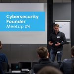 Image for the Tweet beginning: Cybersecurity Founder Meetup🚀🍕 Am 26.