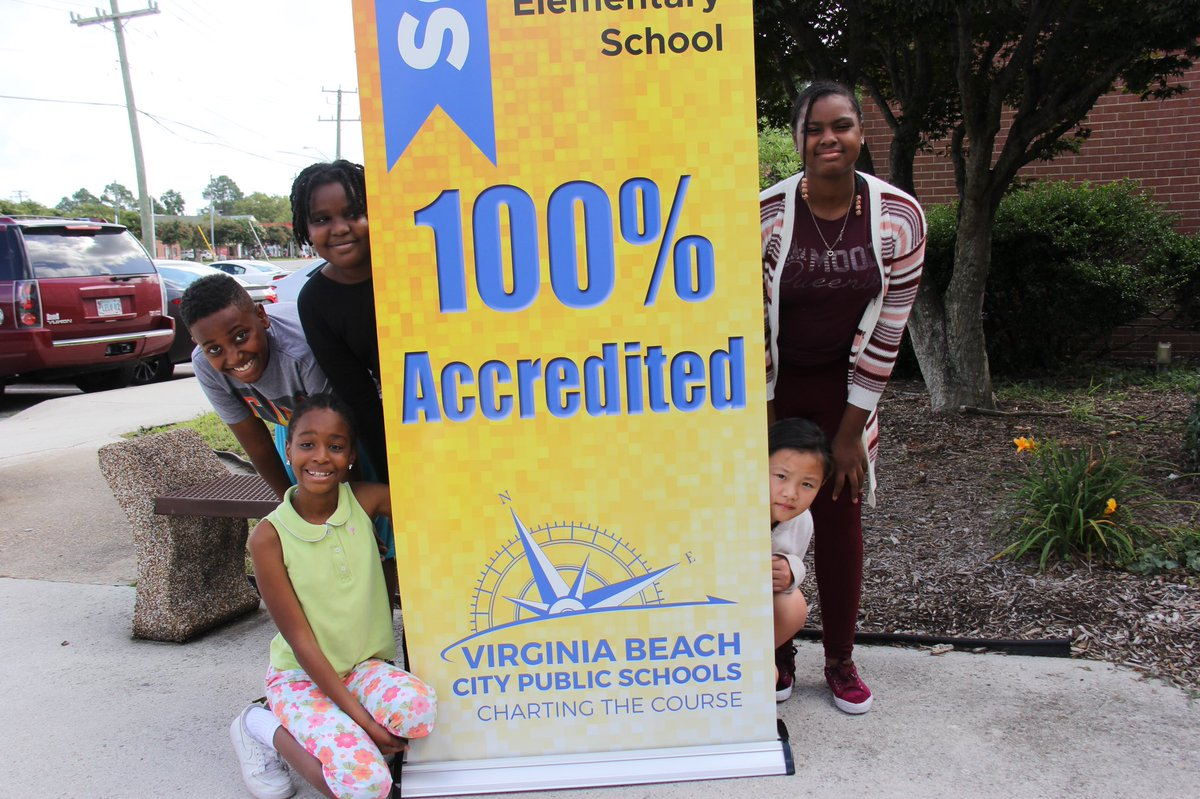 Did you hear the big news?! VBCPS projects 100% accreditation for the third straight year! www2.vbschools.com/press_releases…