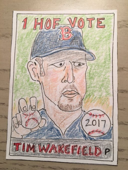 Happy Birthday Tim Wakefield. It s time for another knuckleballer!