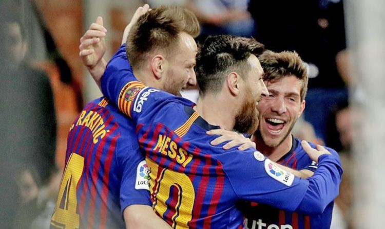 Barcelona player ratings: Lionel Messi STARS against Real Madrid after Sergio Ramos feud https://t.co/Q1x56F4l1q https://t.co/2EjJQp77IJ