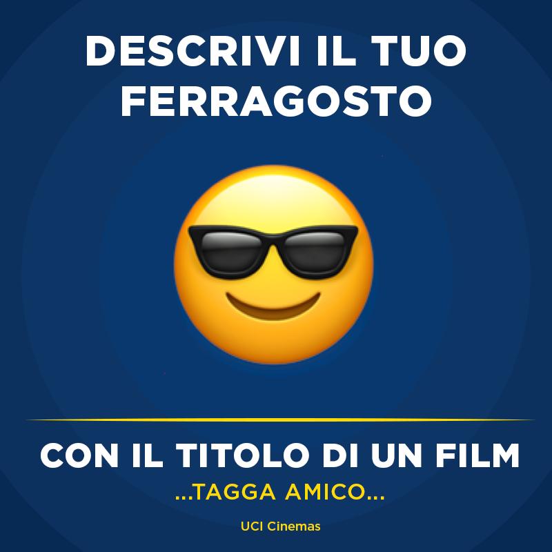 Sarà un #Ferragosto da FILM! Descrivici il tuo e ...