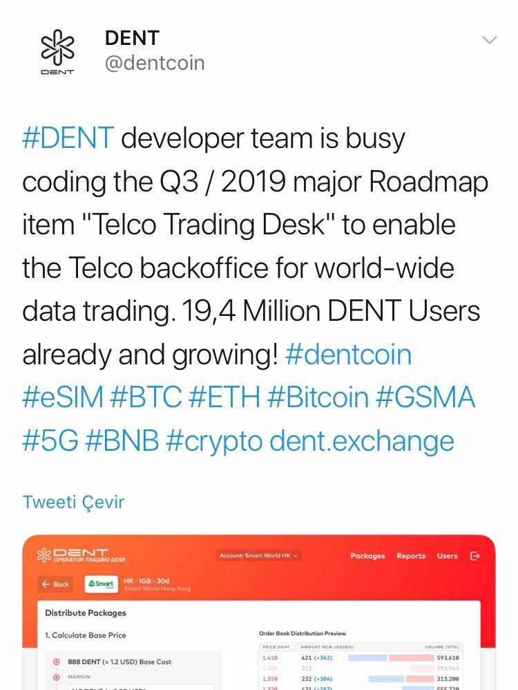 dentcoin hashtag on Twitter