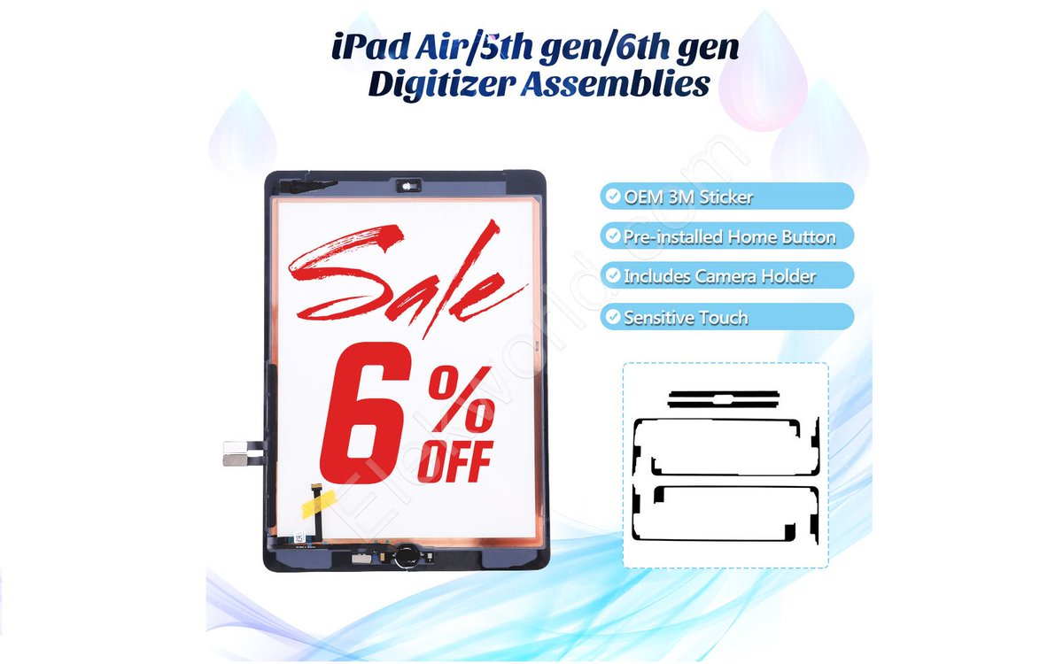 Super Sale !!! iPad Screen  Up to 6% OFF 100%Test Good Fast Delivery  #ElekworldJennifer #ipadscreen #ipadLCD #ipad修理 #ipad #iPhone修理 #screenreplacements #iphonexscreen #iphonexlcd  #iphonexoled #iphonex #iphonexrepair #EBSscreenpic.twitter.com/1h0CMxCuO7
