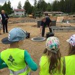 Image for the Tweet beginning: Elinkaarihankkeena toteutettavan Martti Talvela -kampuksen