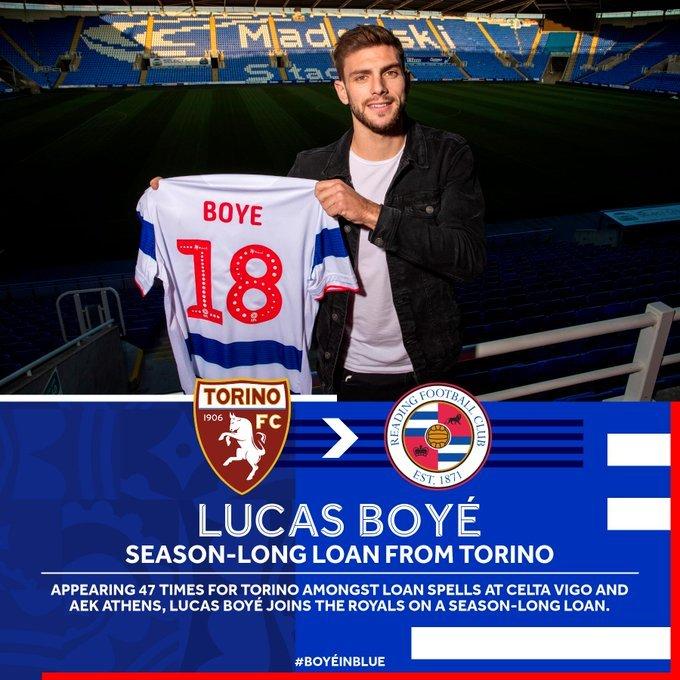 Lucas Boyé, Reading, Championship