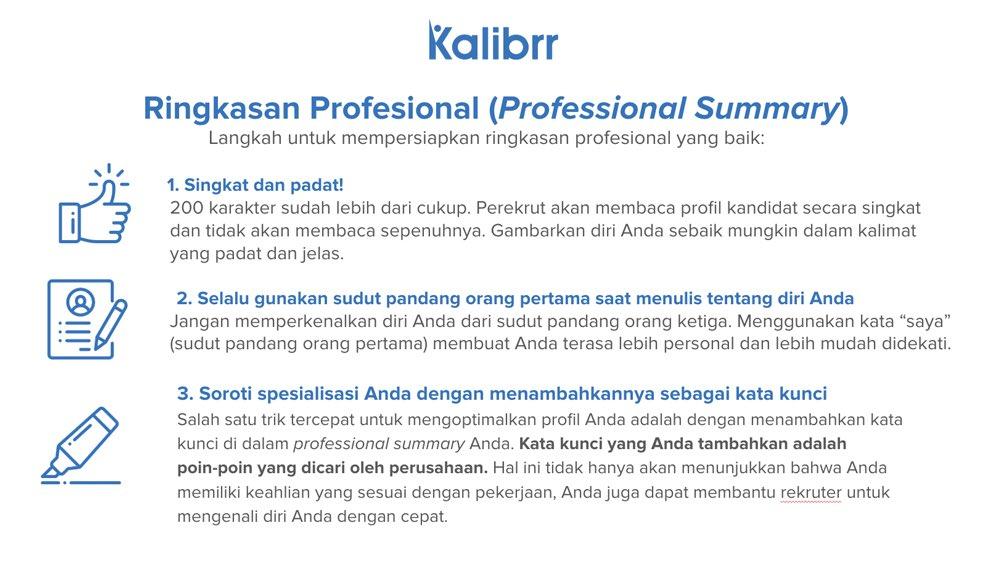 Kalibrr Indonesia On Twitter A Thread Pentingnya Cv Yang Baik Dan Benar Supaya Efektif Menarik Hati Rekruter Atau User Di Sebuah Perusahaan Karena Itu Mari Kita Bahas Yuk Tips Membuat Cv Yang
