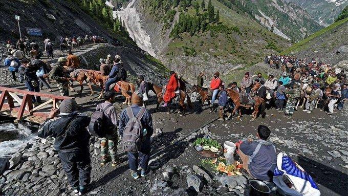Amarnath Yatra concludes;3.39 lakh pilgrims offer prayers