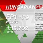 [INFO] 🇪🇸 Carlos Sainz, noveno en los Libres 1 del GP de Hungría 👉 https://t.co/QOWK9Frkam  🇬🇧 Carlos Sainz, ninth in Free Practice 1 for the Hungarian GP 👉 https://t.co/amyQTpzqGK  #carlo55ainz #HungarianGP 🇭🇺 #F1