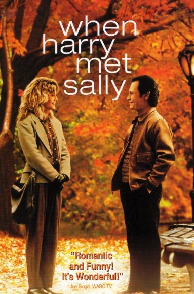 #MB映画『恋人たちの予感』男女の間に友情は成立する?11年間、友達として付き合うサリーとハリー。本当は惹かれ合ってるのに素直になれないもどかしさ。意地を張る二人が何とも微笑ましい。最後のプロポーズは今でも通用する恋愛成就の言葉。キュートなメグ・ライアン&洒落た台詞…もう完璧!
