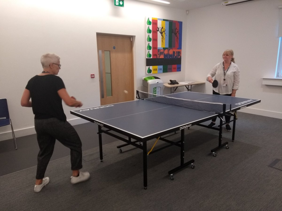 Living the @ljmu #HealthAndWellbeing dream 🤓🏓🏓 #EngagingWithTheWiderContext