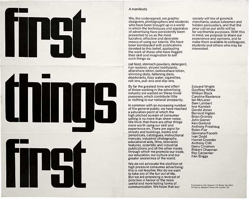 @DavidAirey @AIGAdesign @jessicahelfand @espiekermann @ellenLupton >See also Andrew Howard's 'There is such a thing as society*' in #Eye13 (1994), eyemagazine.com/feature/articl… Howard writes: 'What makes the manifesto interesting today is the realisation that its premises appear as radical now as they did 30 years ago.'