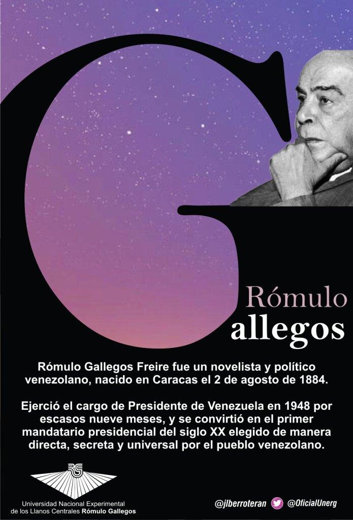 Jose Luis Berroteráns Tweet 2ago Rómulo Gallegos El