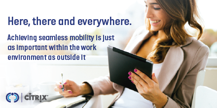 As more people become mobile enabled, its important to provide a seamless user experience. Discover how #CitrixWorkspace keeps people productive wherever they need to work bit.ly/2XNPeDQ