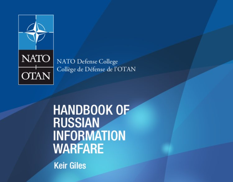 WARFIGHTING: Three things cannot be long hidden: the sun, the moon and the truth.  In 2016, two wks after the American election, this Handbook of Russian Information Warfare was published.  To cure the sickness, we must know what we are fighting.   Thread. https://krypt3ia.files.wordpress.com/2016/12/fm_9.pdf …