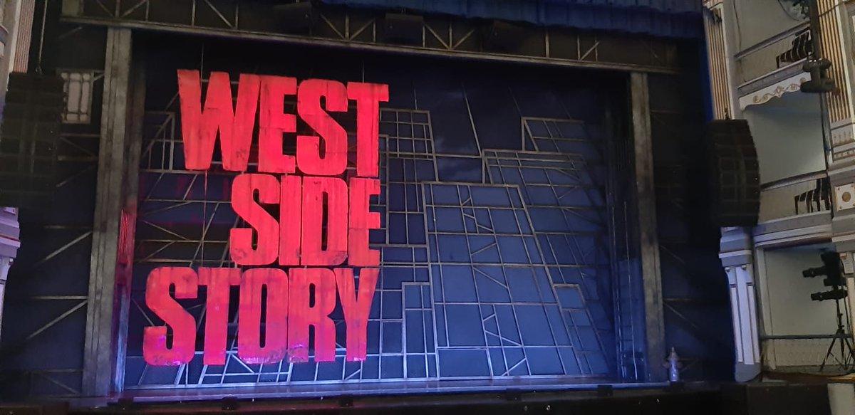 Los pelos como escarpias. :_____) #WestSideStory #westsidestoryelmusical