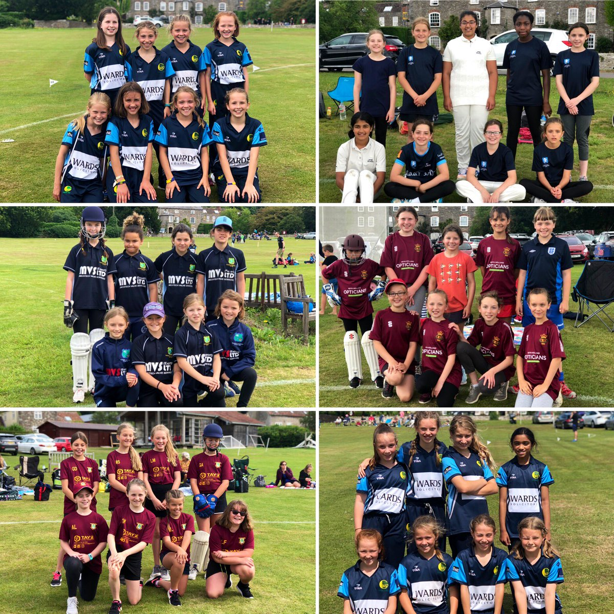 test Twitter Media - Well done to our 6 teams who took part in today's Under 11 Girls Blast! A huge thank you to @TockingtonManor for hosting & providing a lovely environment for the girls play hard ball cricket in 😀💥🏏 #girlscricket https://t.co/WyAEQ8pfNR