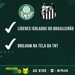 Image for the Tweet beginning: Coisas que Palmeiras e Santos