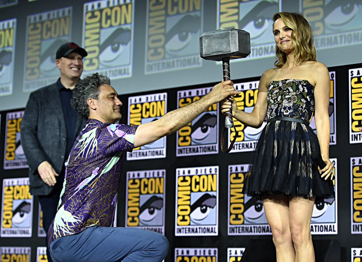 Here's your look at the Marvel Studios panel in Hall H at #SDCC! (5/8)