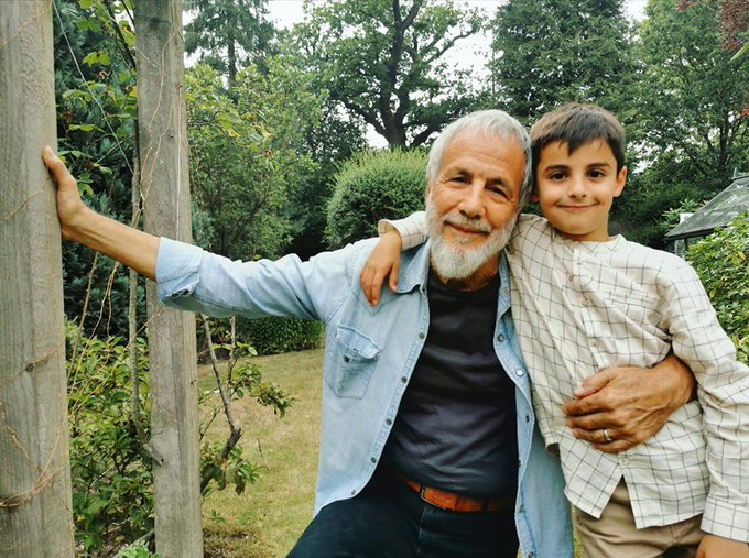 Happy Birthday to the Tillerman and his Grandson!  Team Yusuf / Cat Stevens