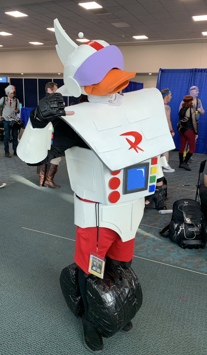 We found Gizmoduck at #SDCC50! What is your favorite character to cosplay? #FunkoSDCC
