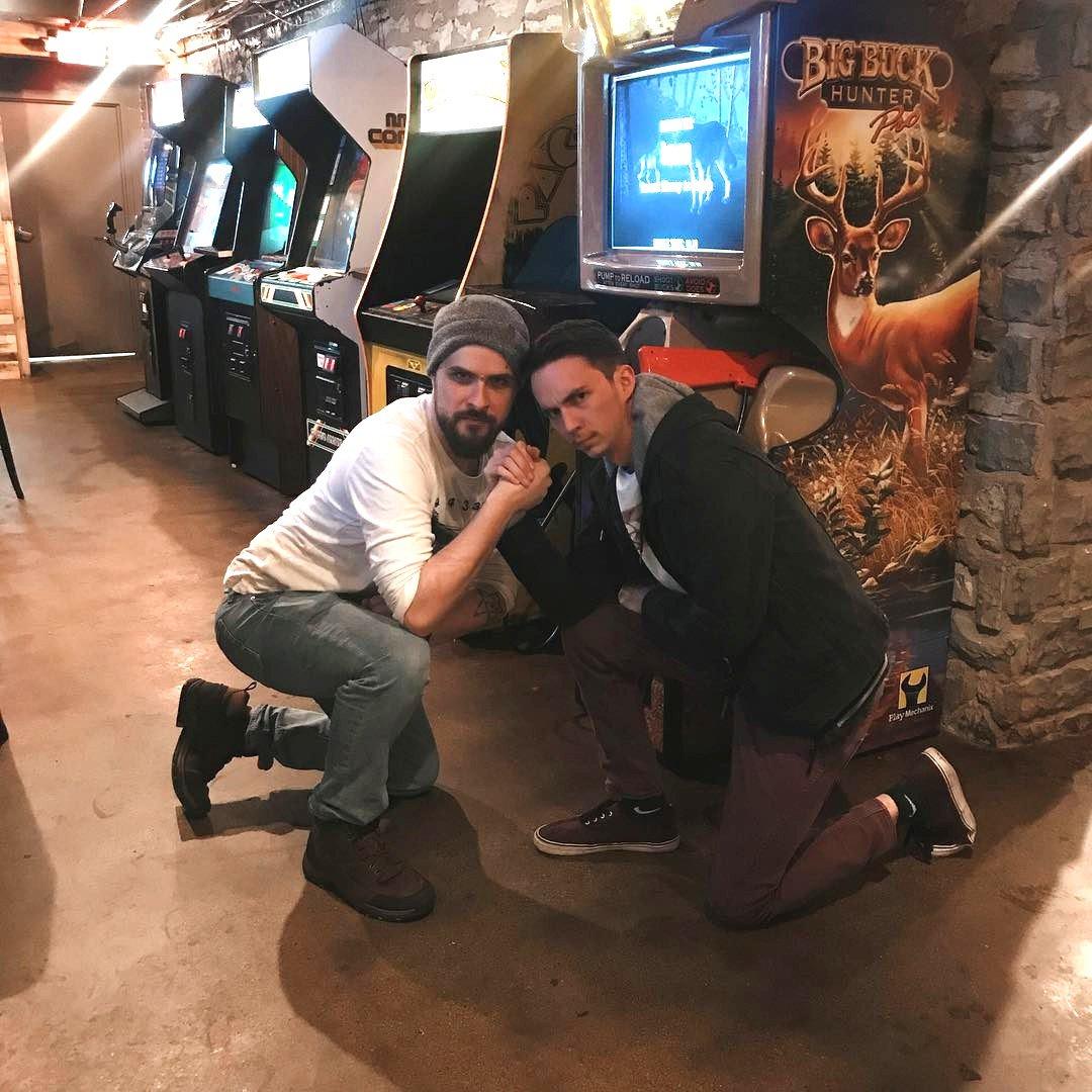 We're getting high-score vibes. #arcade #barcade #smokejustis 📷: kenneth_maniftesto (IG)