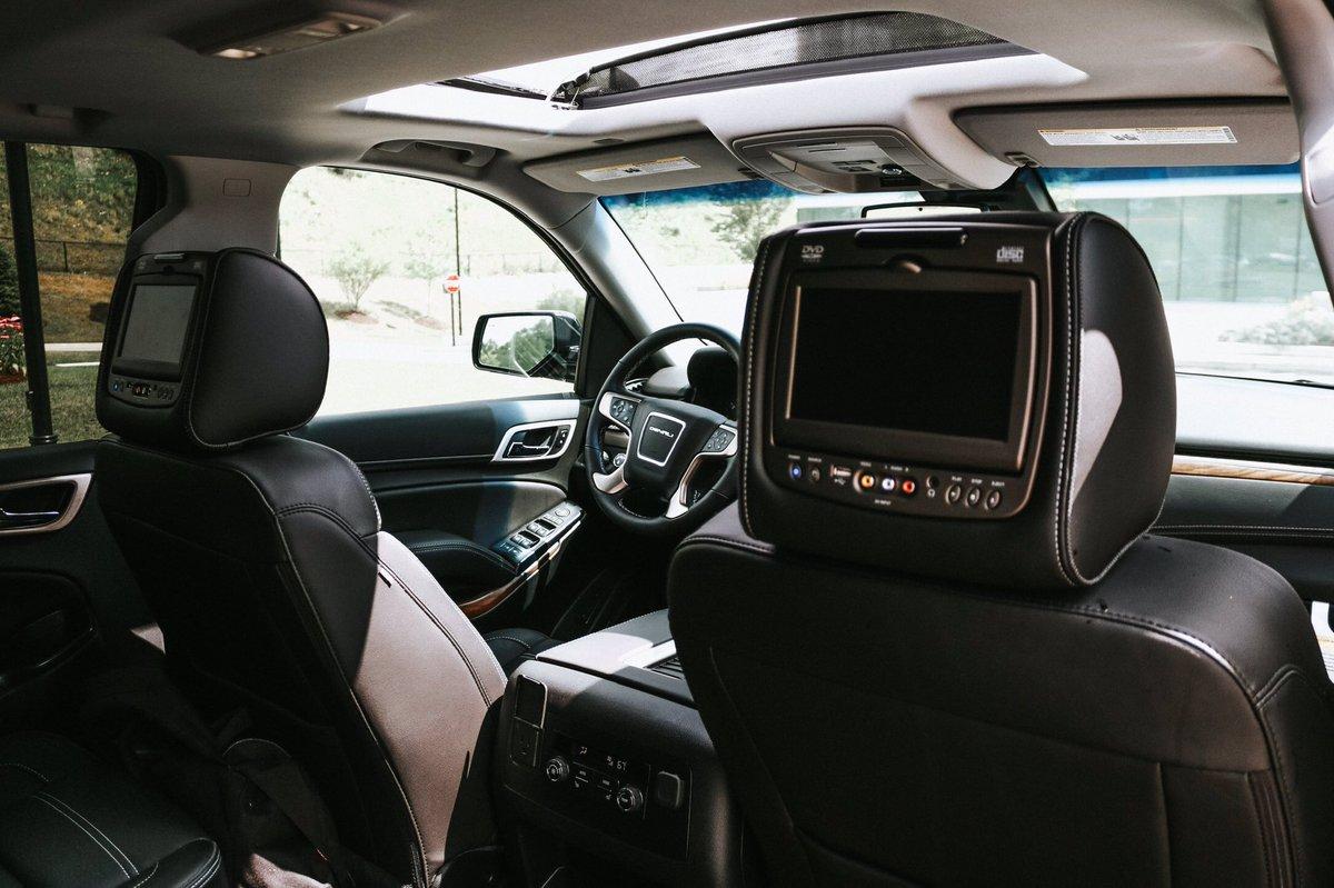Road Trip!? The 2019 #GMC Yukon Denali with an Entertainment System!
