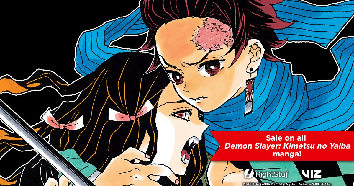 Demon Slayer: Kimetsu no Yaiba and other VIZ titles are now on sale on @rightstufanime!  Shop now: https://buff.ly/2BgZxDw