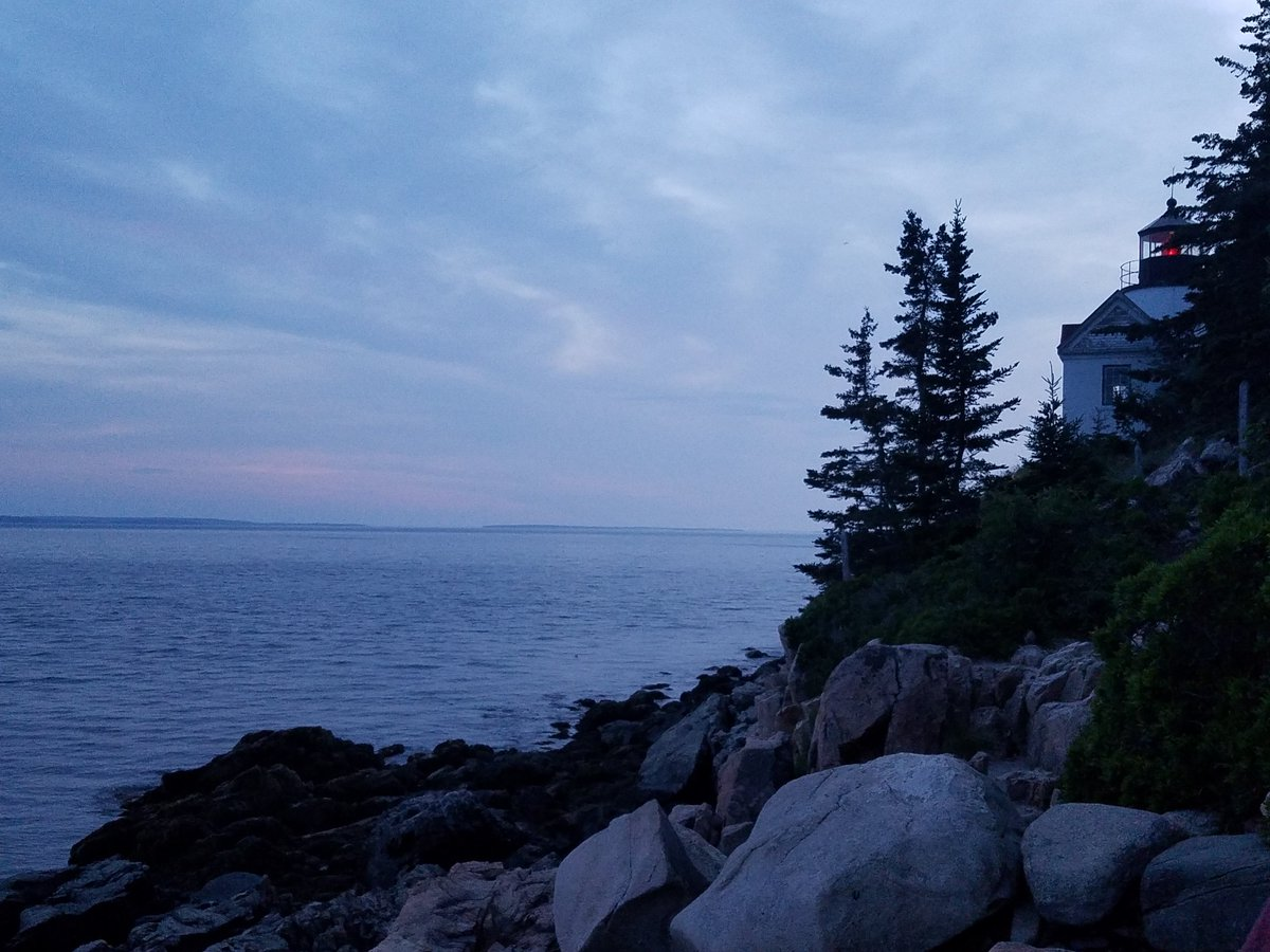 #SUNSET #bass #lighthouse #Maine #vacation #summer #SundayThoughts