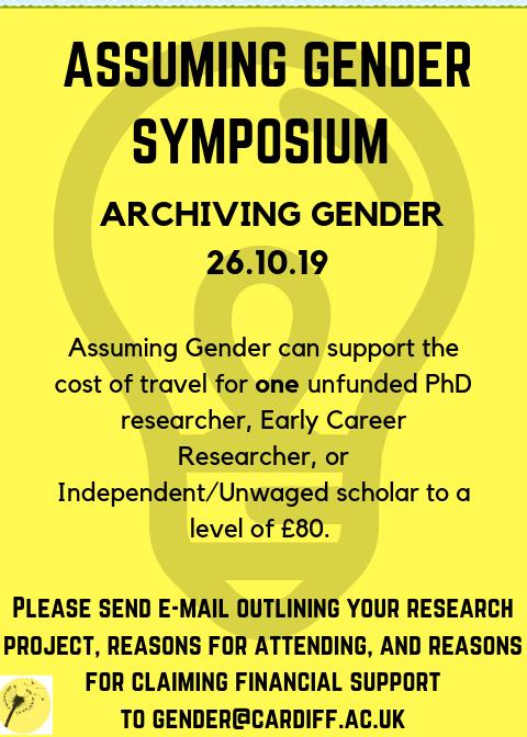 Assuming Gender - @AssumingGender Twitter Profile and
