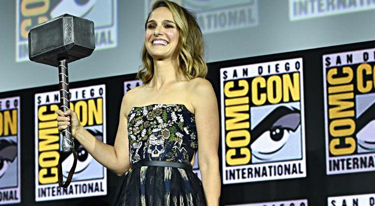 Marvel na Comic-Con: Natalie Portman será Thor em novo filme