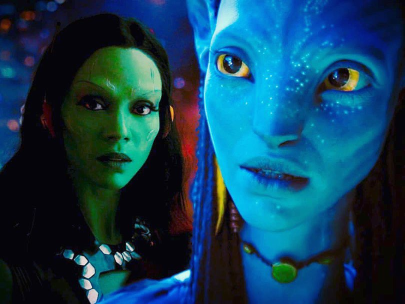 Zoe Saldana Fan Page S Tweet Our Sci Fi Queen