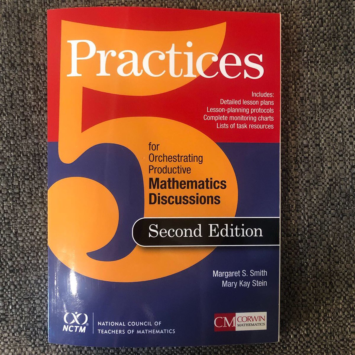 After hearing about this book from @MakeMathMoments, I'm excited to give it a read. I'm looking forward to having great math discussions with my students next year! #mtbos #iteachmath #mathchat #iteach4th #edchat #teacherlife