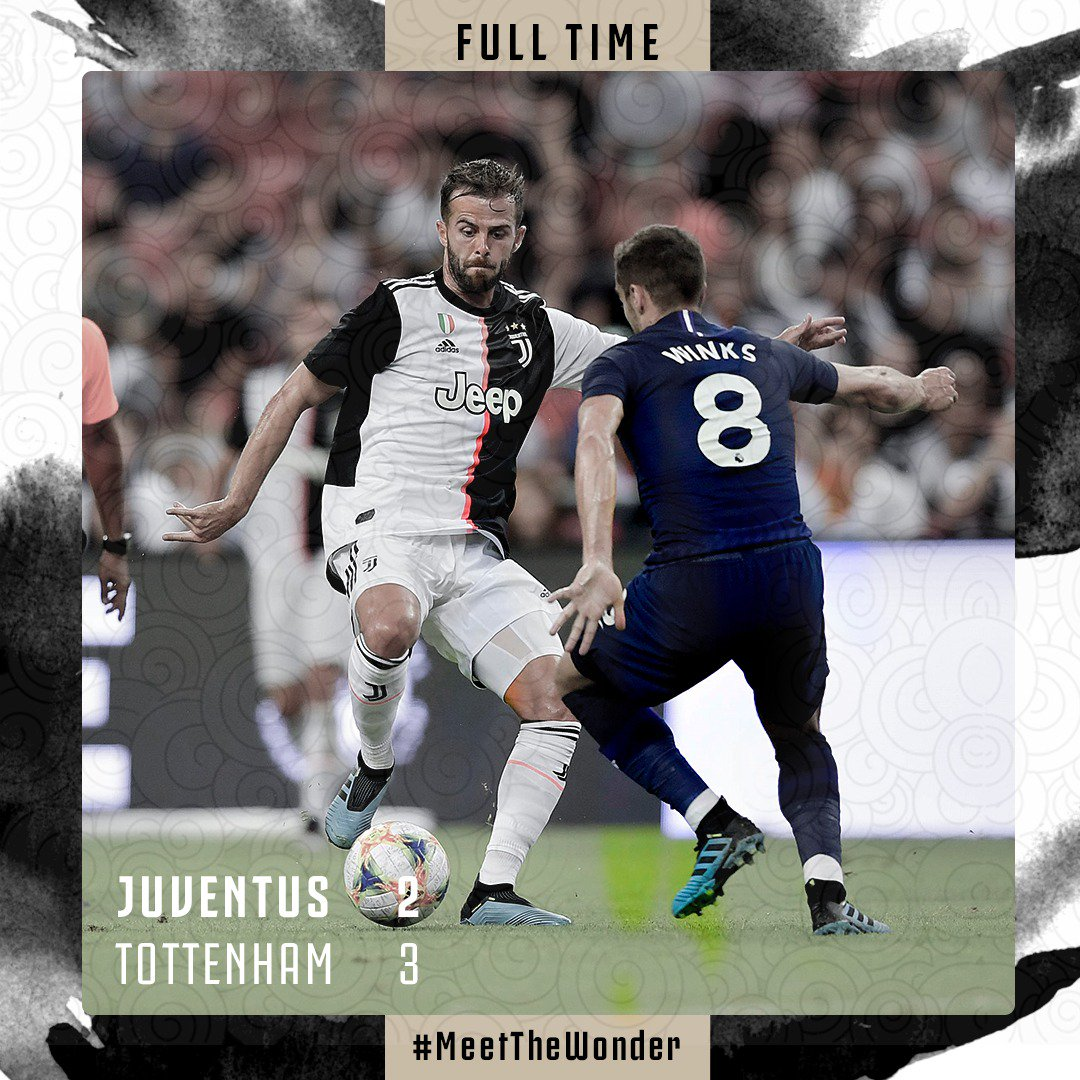 FULL-TIME Goal e spettacolo a Singapore, ma passa il Tottenham 3-2 #ICC2019 #MeetTheWonder