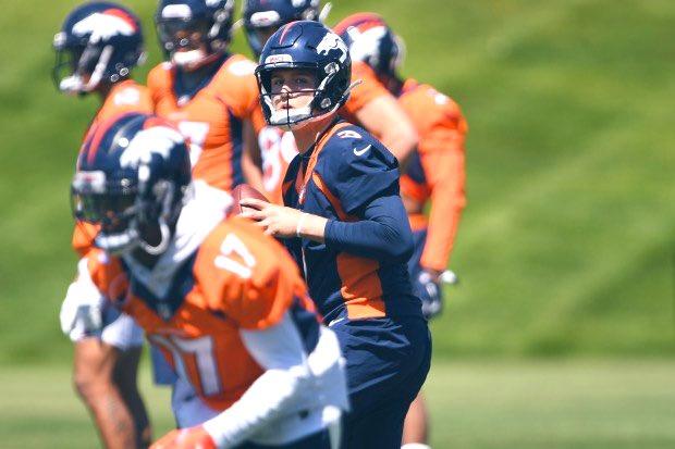 Inside Broncos camp: Joe Flacco in a Denver Uniform   #JoeFlacco #BroncosNation #NFLPreseason #NFL #Broncos  https://youtu.be/tLb0NILNmFM