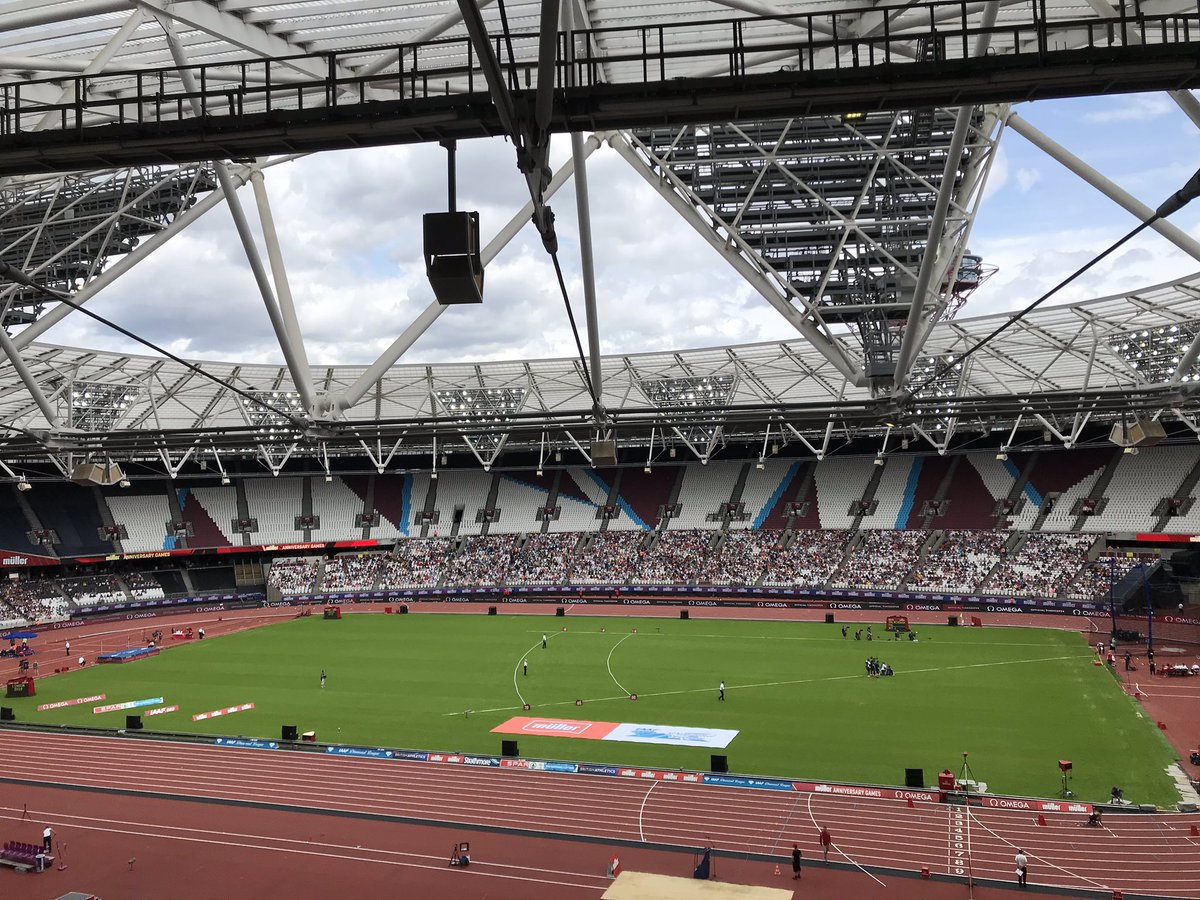 Join us from 1500 GMT to catch up with all the afternoon's action from @London_DL 💎 #BBCSportsworld