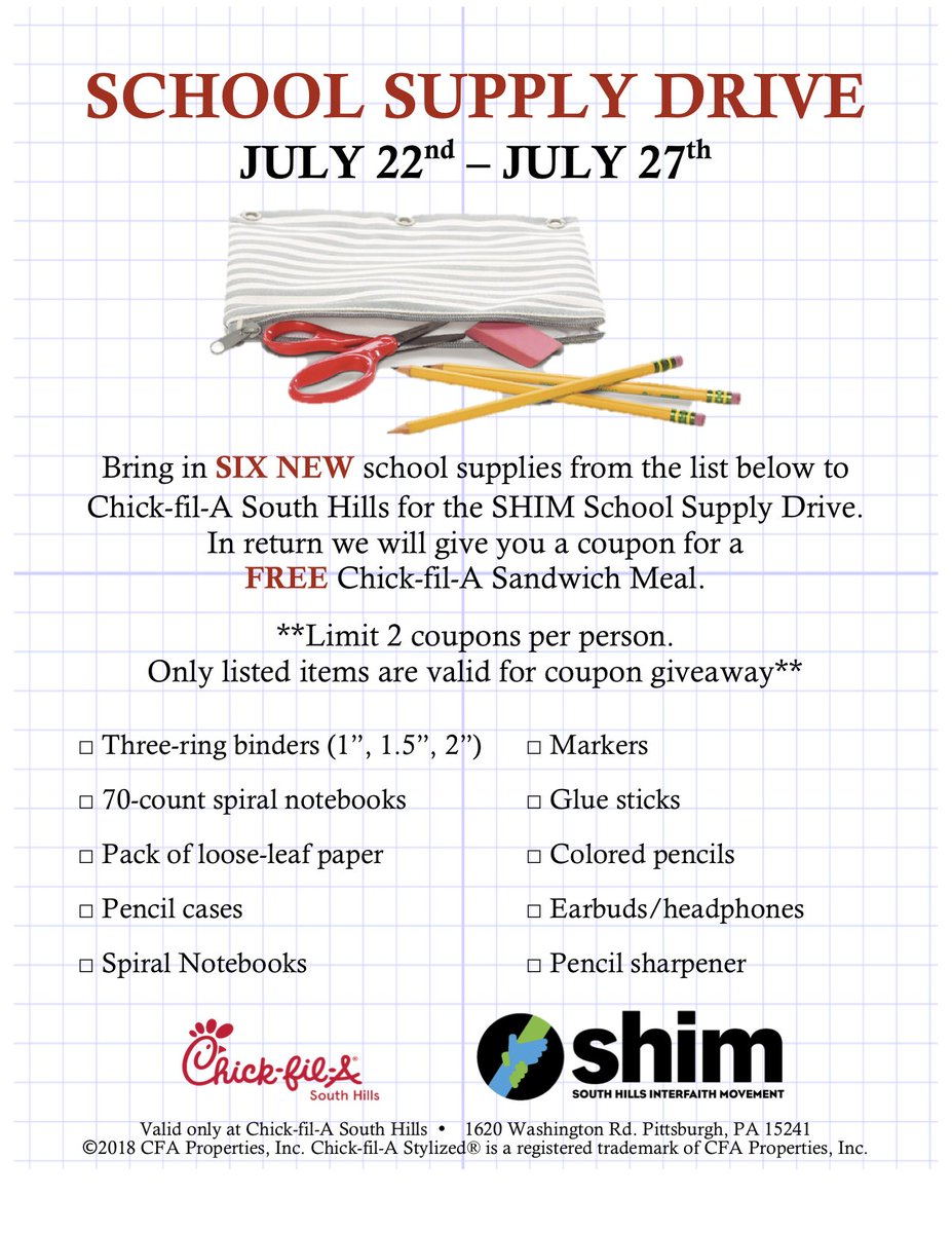 photo about Chickfila Printable Coupons identify SHIM upon Twitter: \