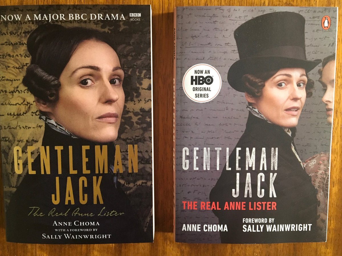 Lovely #Gentlemanjack people! Please keep spreading the news about my book! Can I ask my followers to retweet and tag a friend? Link to UK edition https://bit.ly/2G6mbj8 and US edition https://twitter.com/PenguinBooks/status/… 1120712403447156737. Thank you!