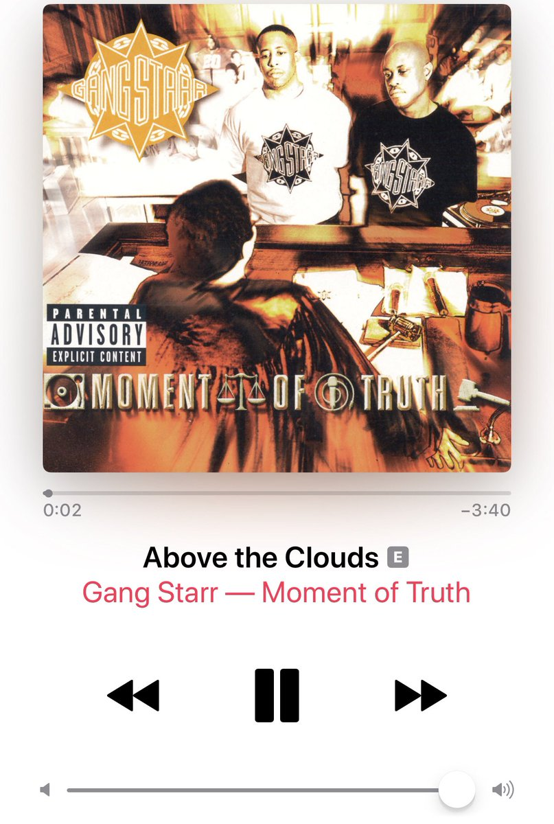 In honor of the #Apollo50th let us remember one of the greatest hip hop groups and tracks of all time: #GangStarr #AbovetheClouds   Listen here: https://youtu.be/Ucvta7xDo_4