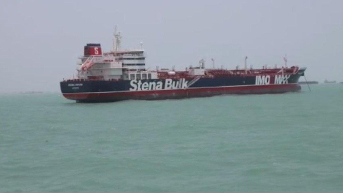 "Iran posts video of tanker seizure, UK calls it ""hostile act"" https://reut.rs/32IPaUM"