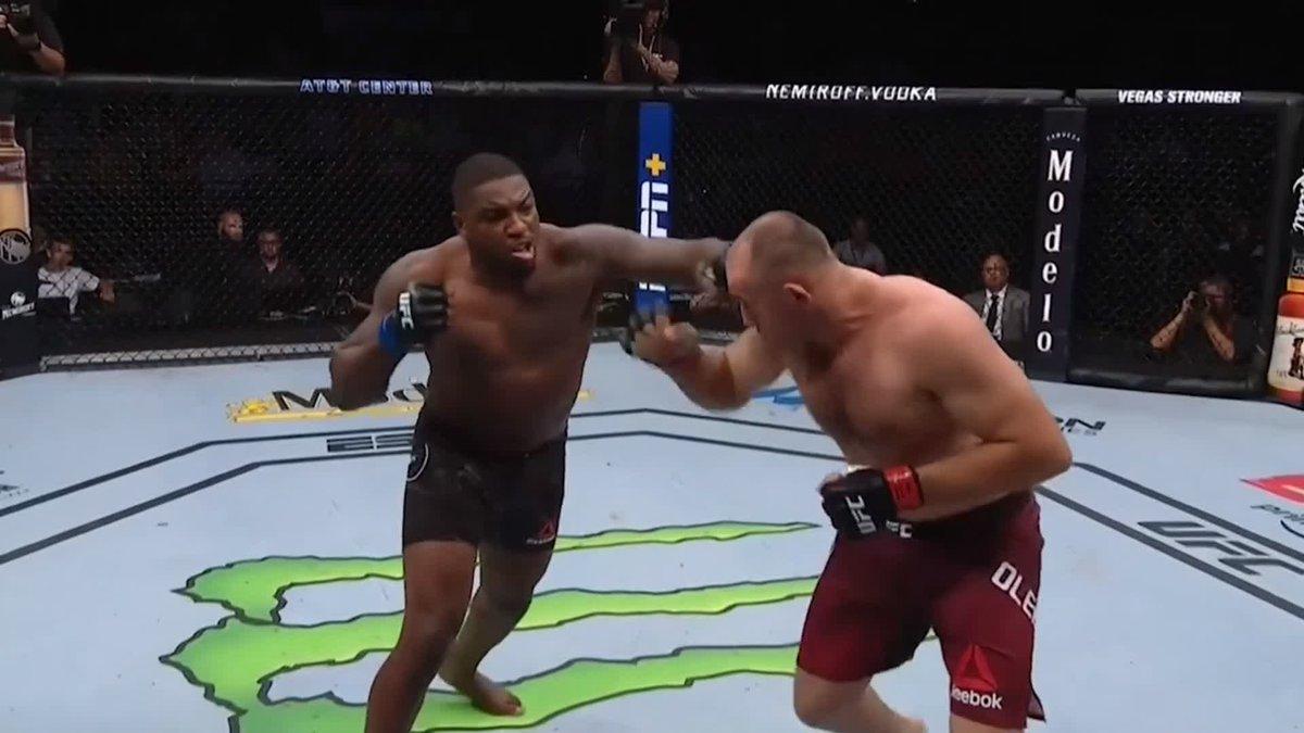 ¡IMPRESIONANTE! ¡Rapidito y a lo que vino 😂! ¡KO terrible de Walt Harris en solo 12 SEGUNDOS! 😳 #UFCSanAntonio 🥊