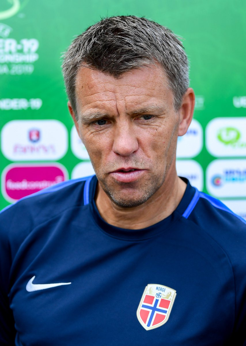 "Can @nff_info get the win they need against France tonight to reach the semis? #FRANOR   Coach Gunnar Halle thinks so: ""In the elite round we beat Germany and Croatia, so why not?"" #U19EURO<br>http://pic.twitter.com/PD3l3Q9beW"