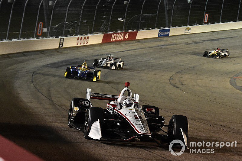 . #Iowa300 winner @JosefNewgarden says the result was redemption for qualifying and disappointment in the same race last year - tinyurl.com/y33pu7ba @Team_Penske @IndyCar