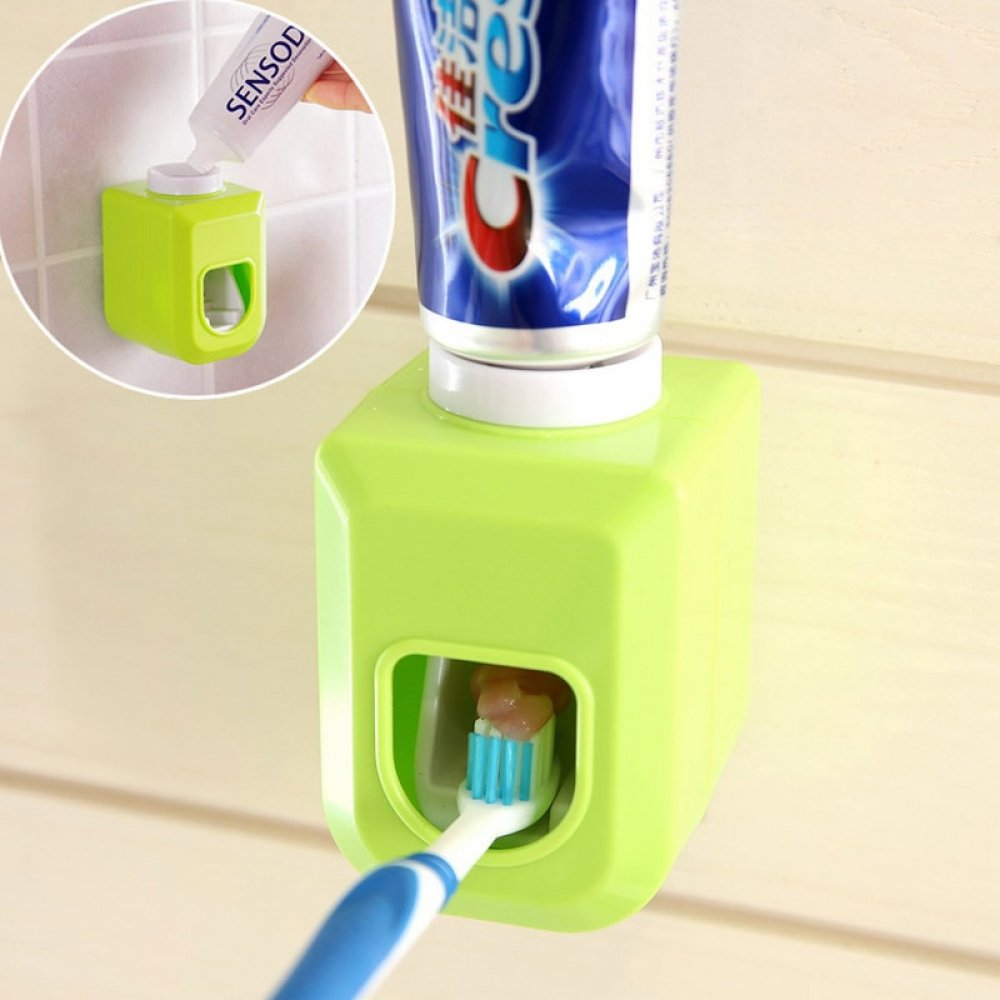 Automatic Toothpaste Dispenser With Toothbrush Holder | Retweet If you Like It   Shop Now --> https://albastaonline.com/automatic-toothpaste-dispenser-with-toothbrush-holder/…  #home #kitchen