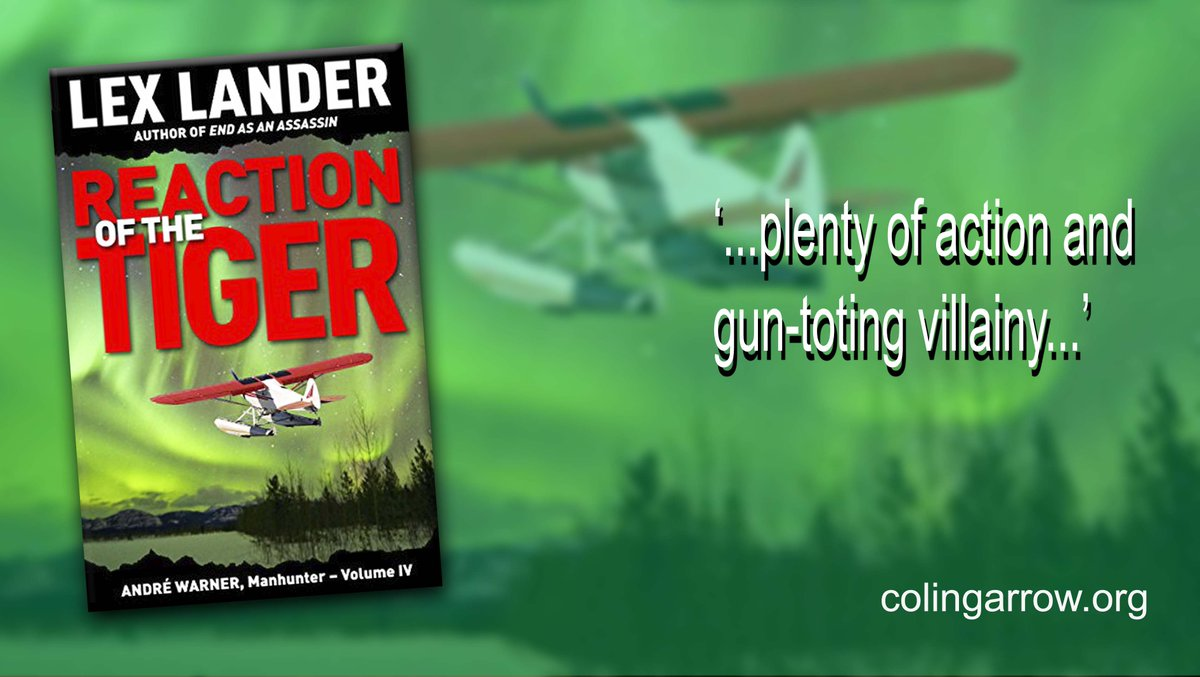 'Reaction of the Tiger' by Lex Lander '...plenty of action and gun-toting villainy...' #murder #thriller http://ow.ly/9kbp30p1X3n