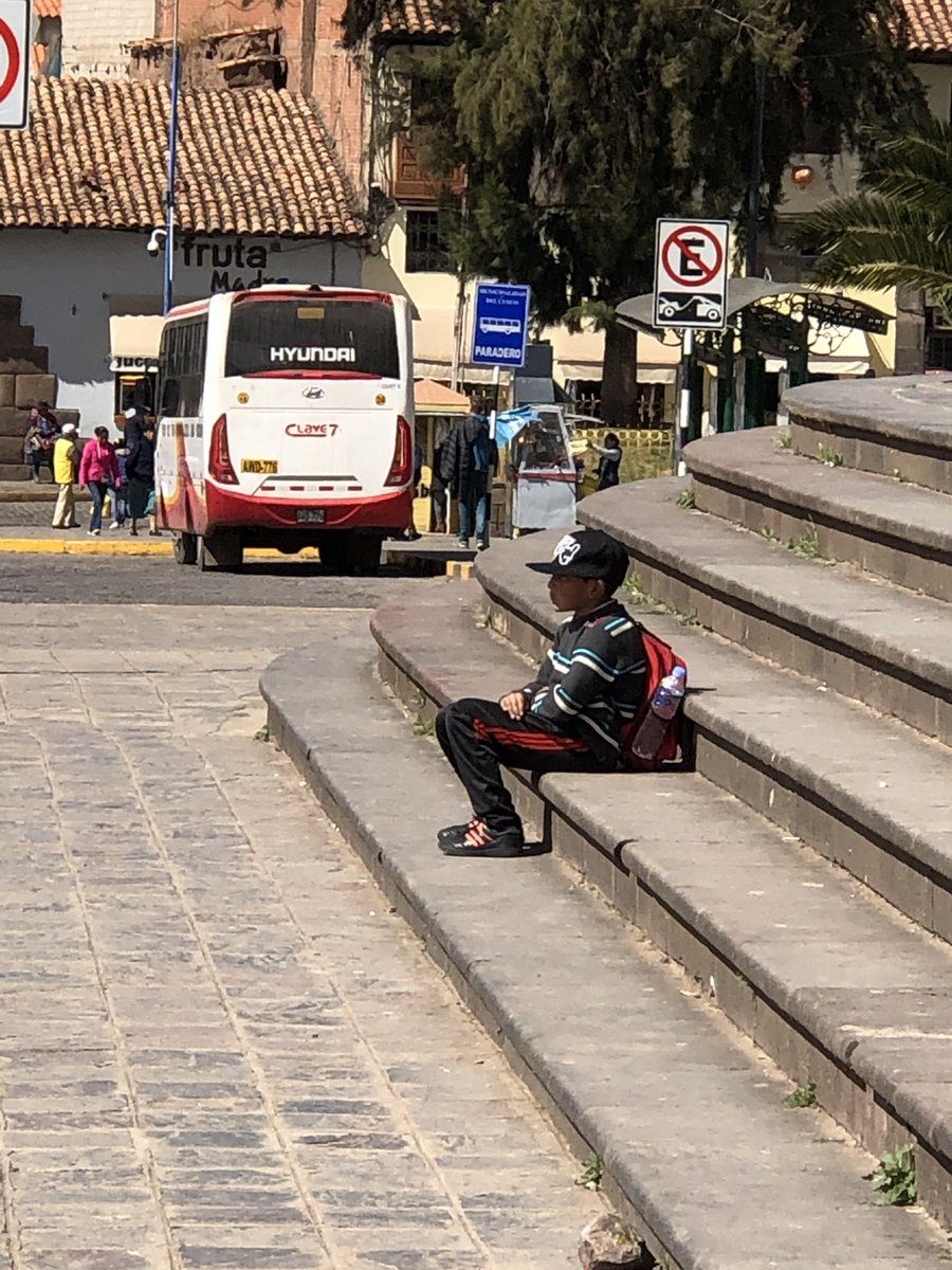 This kid just chilling by himself on a Saturday morning in Peru is the epitome of cool. #peru #kids