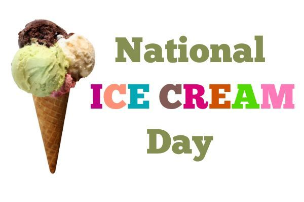 Today is National Ice Cream Day!  What's your favorite flavor? #icecream #sundaes #mintchocolatechip #chocolate #cold #refreshing #softserve #icecreamcone #nationalicecreamday #dairy #summer #yummy