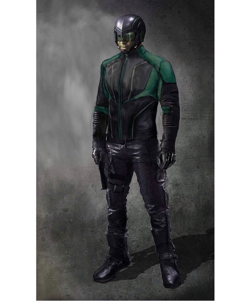 Actor @david_ramsey shared this concept art of a new look for John Diggle, aka Spartan, in #Arrow season 8.  #Art<br>http://pic.twitter.com/Ivzn6RnFgE
